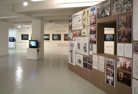 Vue de l'exposition à la galerie Art & Essai. Photo : André Morin (Paris)